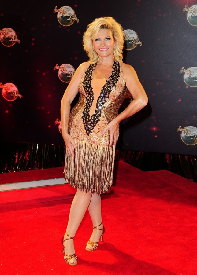 Fiona Fullerton arriving for the Strictly Come Dancing Photocall at Elstree Studios, London. PRESS ASSOCIATION Photo. Picture date: Tuesday September 3, 2013. Photo credit should read: Ian West/PA Wire