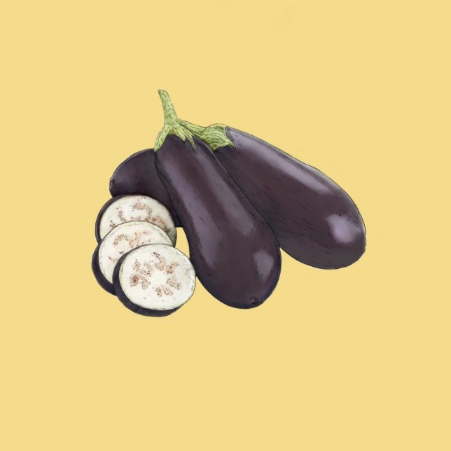 Try aubergines with fennel seed and ricotta (Picture: Ben Rothery Illustration)
