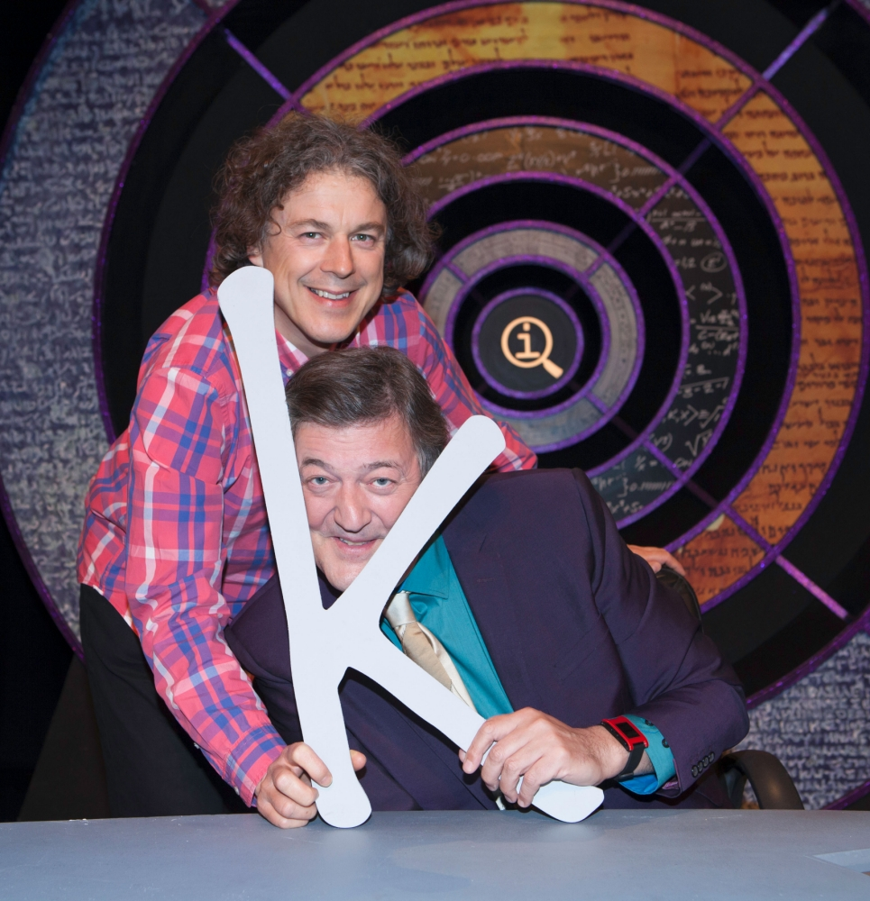 Stephen Fry quit QI because 'the BBC's budget cuts left him exhausted' according to co-star Alan Davies