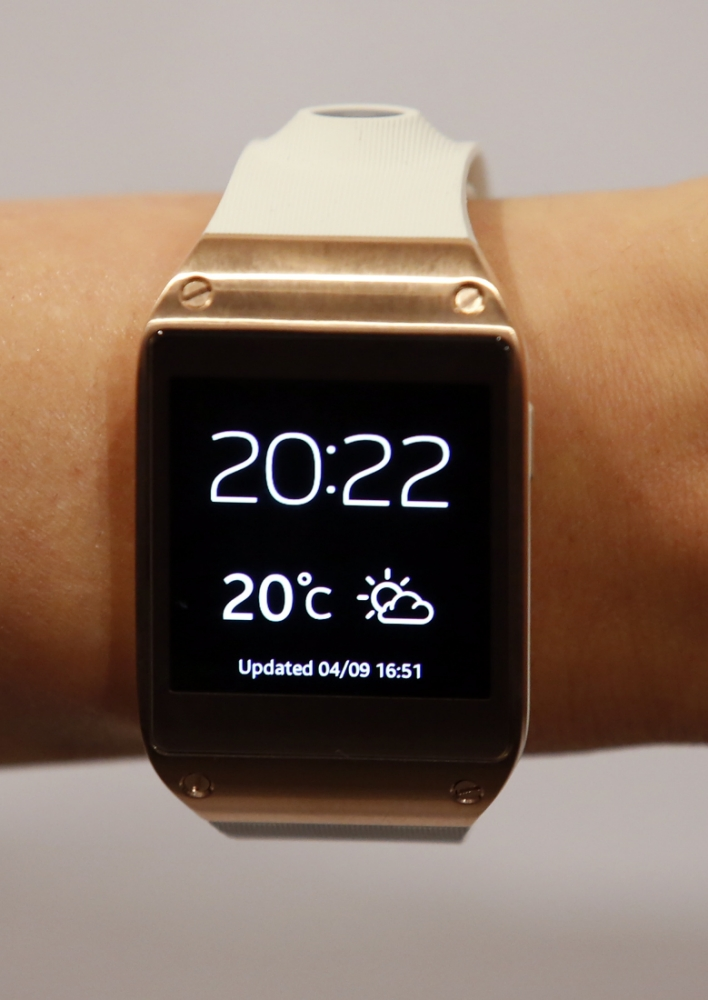 Samsung Galaxy Gear smartwatch: Back to the future or design throwback?