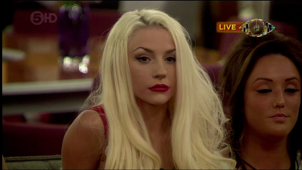 Celebrity Big Brother - Eviction. Shown on Channel 5HD. Featuring: Courtney Stodden When: 05 Sep 2013 Credit: Supplied by WENN **WENN does not claim any ownership including but not limited to Copyright or License in the attached material. Any downloading fees charged by WENN are for WENN's services only, and do not, nor are they intended to, convey to the user any ownership of Copyright or License in the material. By publishing this material you expressly agree to indemnify and to hold WENN and its directors, shareholders and employees harmless from any loss, claims, damages, demands, expenses (including legal fees), or any causes of action or  allegation against WENN arising out of or connected in any way with publication of the material.offline**