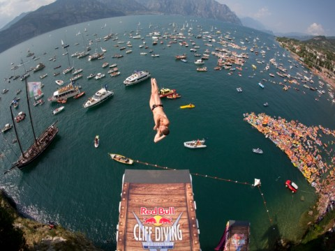 We join the human lemmings on the Red Bull cliff-diving circuit – plus ticket competition