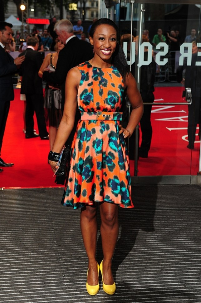 Beverley Knight arriving for the Diana premiere at the Odeon Leicester Square, London. PRESS ASSOCIATION Photo. Picture date: Thursday September 5, 2013. Photo credit should read: Ian West/PA Wire
