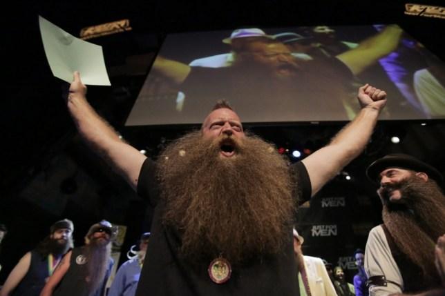Jeff Langum, beard