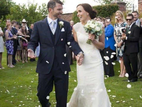 Victoria Pendleton ties the knot with ex-coach Scott Gardner