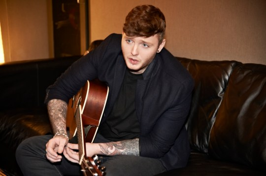 Last year's X Factor winner James Arthur (Picture: Supplied)