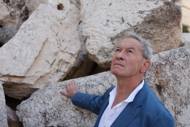 Simon Schama's new book accompanies a BBC television series (Picture: Tim Kirby)