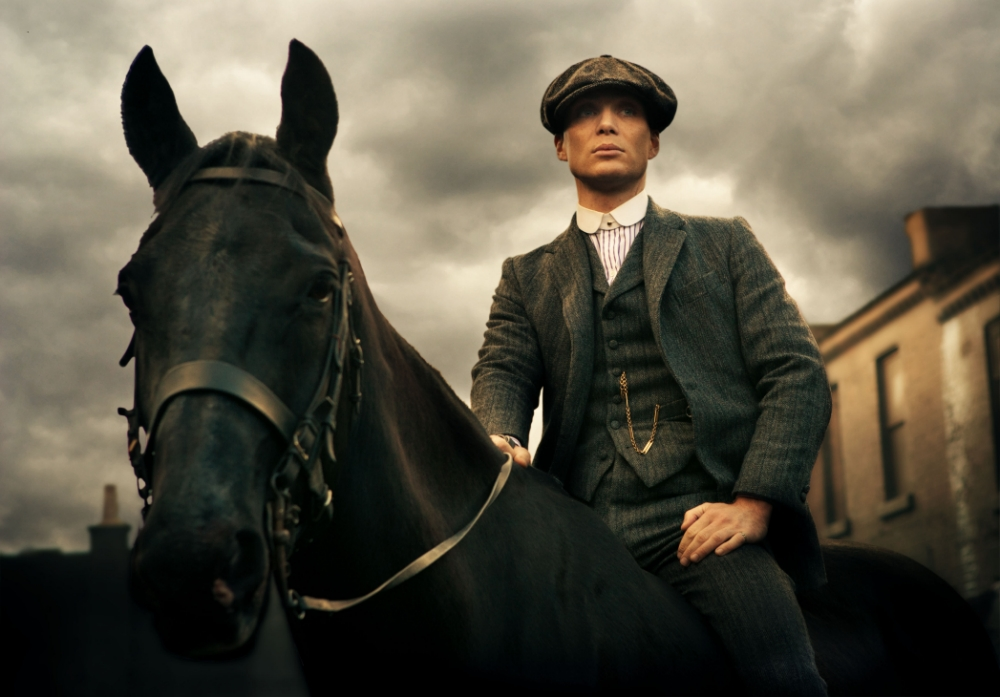 Cillian Murphy puts in a top drawer performance as troubled gang leader Thomas Shelby (Picture: Tiger Aspect)