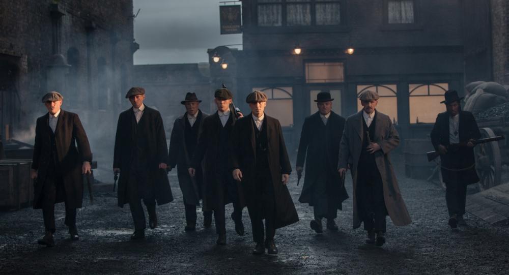 Cillian Murphy is among the cast of Peaky Blinders (Picture: Robert Viglasky)
