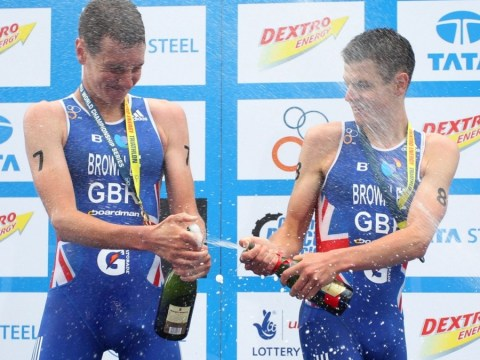 Alistair Brownlee: I'd race Mo Farah – if I was on a bike and he was running!