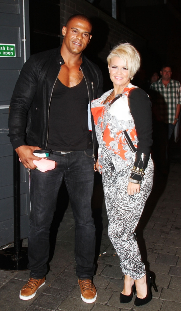 27.JUN.2013 - DUBLIN - IRELAND KERRY KATONA PICTURED WITH GEORGE KAY AT THE GEORGE PUB IN DUBLIN! SHE PERFORMED 3 ATOMIC KITTEN SONGS FOR AN AUDIENCE OF ABOUT 150 PEOPLE WHILE WEARING A PATTERNED JUMPSUIT! BYLINE MUST READ: XPOSUREPHOTOS.COM *STRICTLY NOT AVAILABLE FOR USE IN IRELAND* ***UK CLIENTS - PICTURES CONTAINING CHILDREN PLEASE PIXELATE FACE PRIOR TO PUBLICATION *** PLEASE CREDIT AS PER BYLINE  *UK CLIENTS MUST CALL PRIOR TO TV OR ONLINE USAGE PLEASE TELEPHONE 020 8370 0291 & +1 310 600 4723*