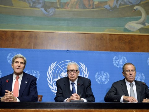 Syria: US and Russia promise to work together to end conflict after crisis talks