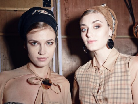 London Fashion Week: Backstage beauty at Daks