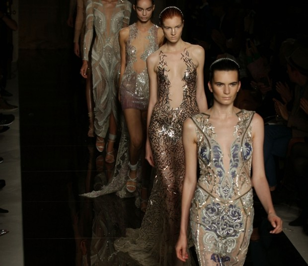 London Fashion Week: Julien Macdonald keeps it glam and predictable