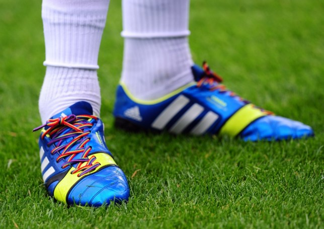 Stonewall and Paddy Power team up to put the boot into football homophobia with rainbow-coloured bootlaces