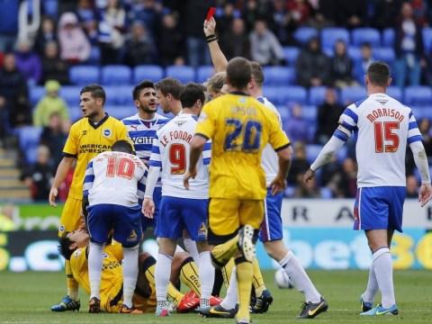 Leonardo Ulloa deserved red card at Reading, admits Brighton boss