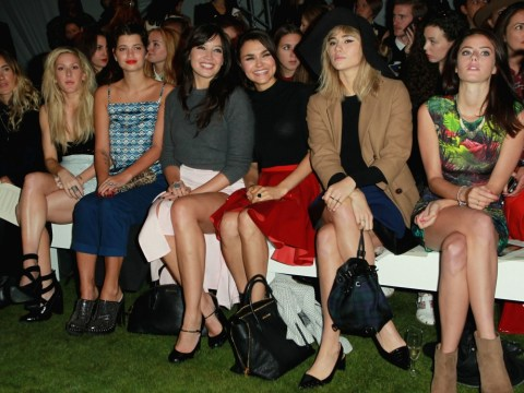 Gallery: The Unique Spring/Summer 2014 fashion show on day three of London Fashion Week at the Topshop Show Space