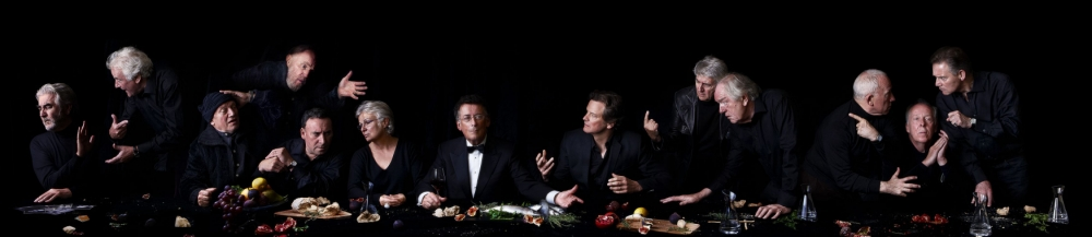 The ultimate dinner party: British actors line up to recreate The Last Supper