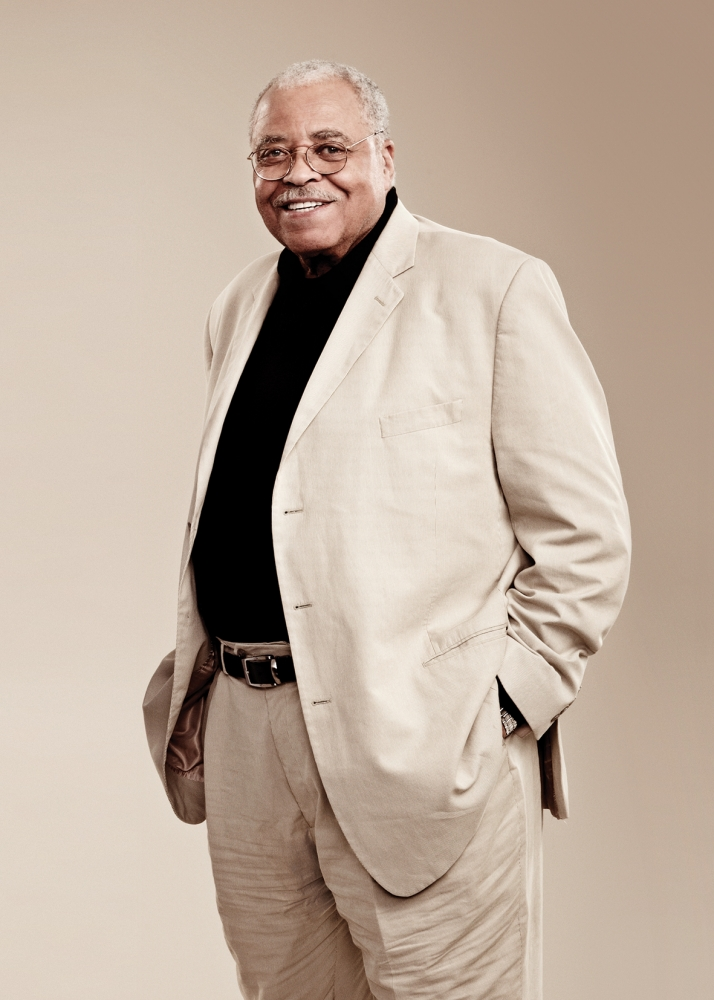 James Earl Jones: I'll just keep going until I fall over