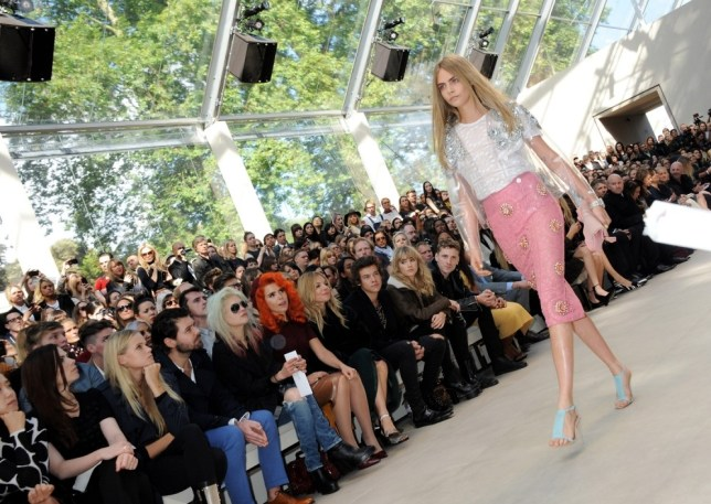 Will you be on the FROW for London Fashion Week? (Picture: Getty)