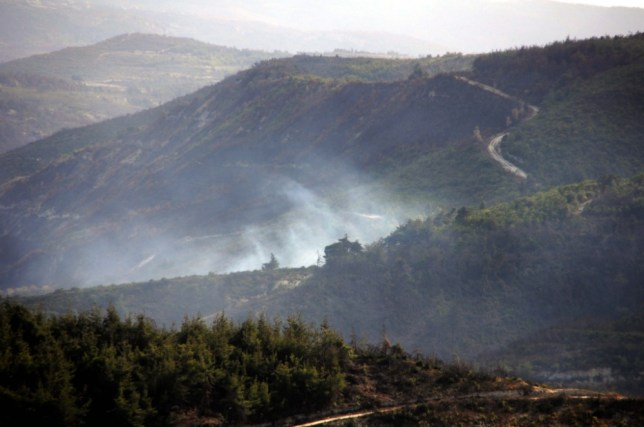 Turkish warplanes shoot down Syrian helicopter