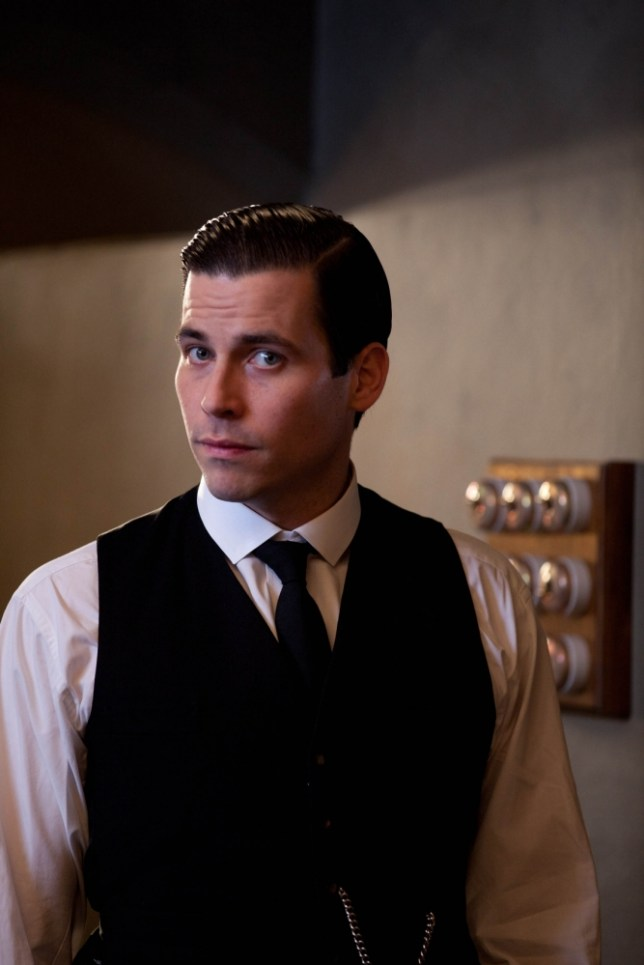 Rob James-Collier as Thomas Barrow (Picture: Supplied)