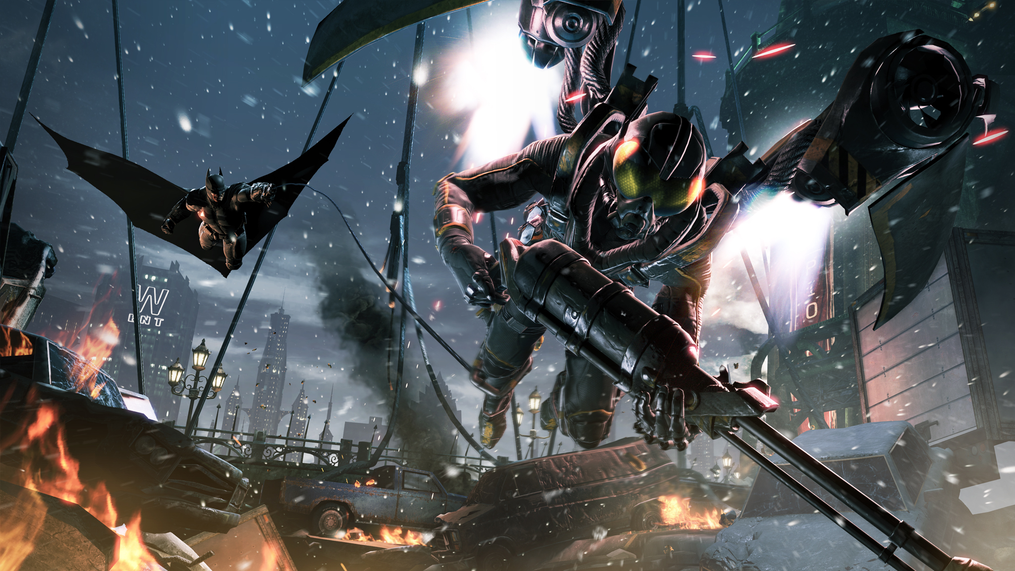 Batman: Arkham Origins - a flying start