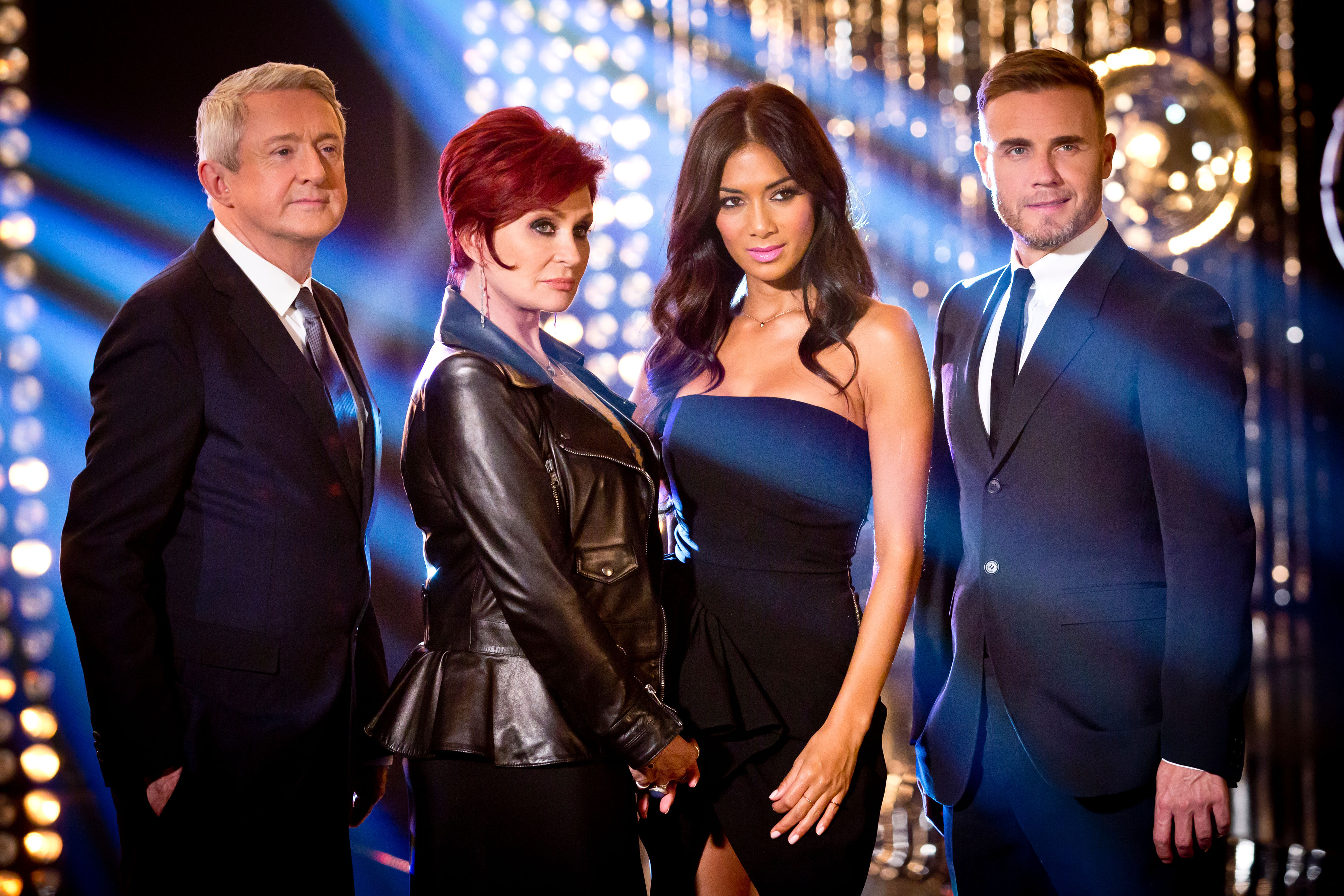 Sharon Osbourne's X Factor return proved popular with fans (Picture: ITV)