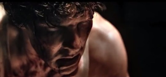 Benedict Cumberbatch has had a rough time of it in the trailer for Little Favour (Picture: Youtube)