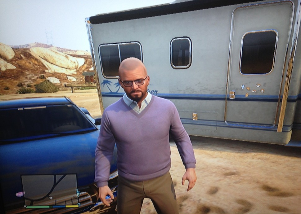 Walter White in GTA 5
