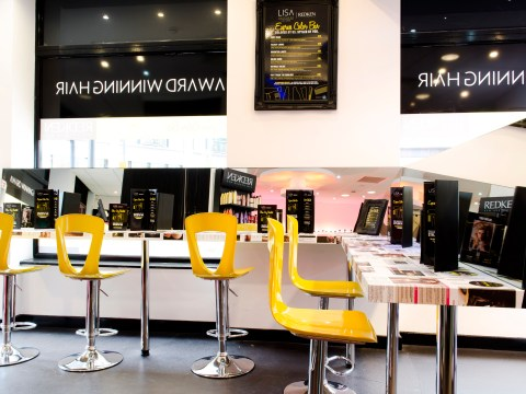 Treatment Corner: We try out the UK's first express Colour Bar.