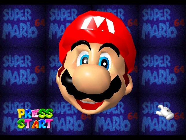 Super Mario 64 – a real 'wow' moment