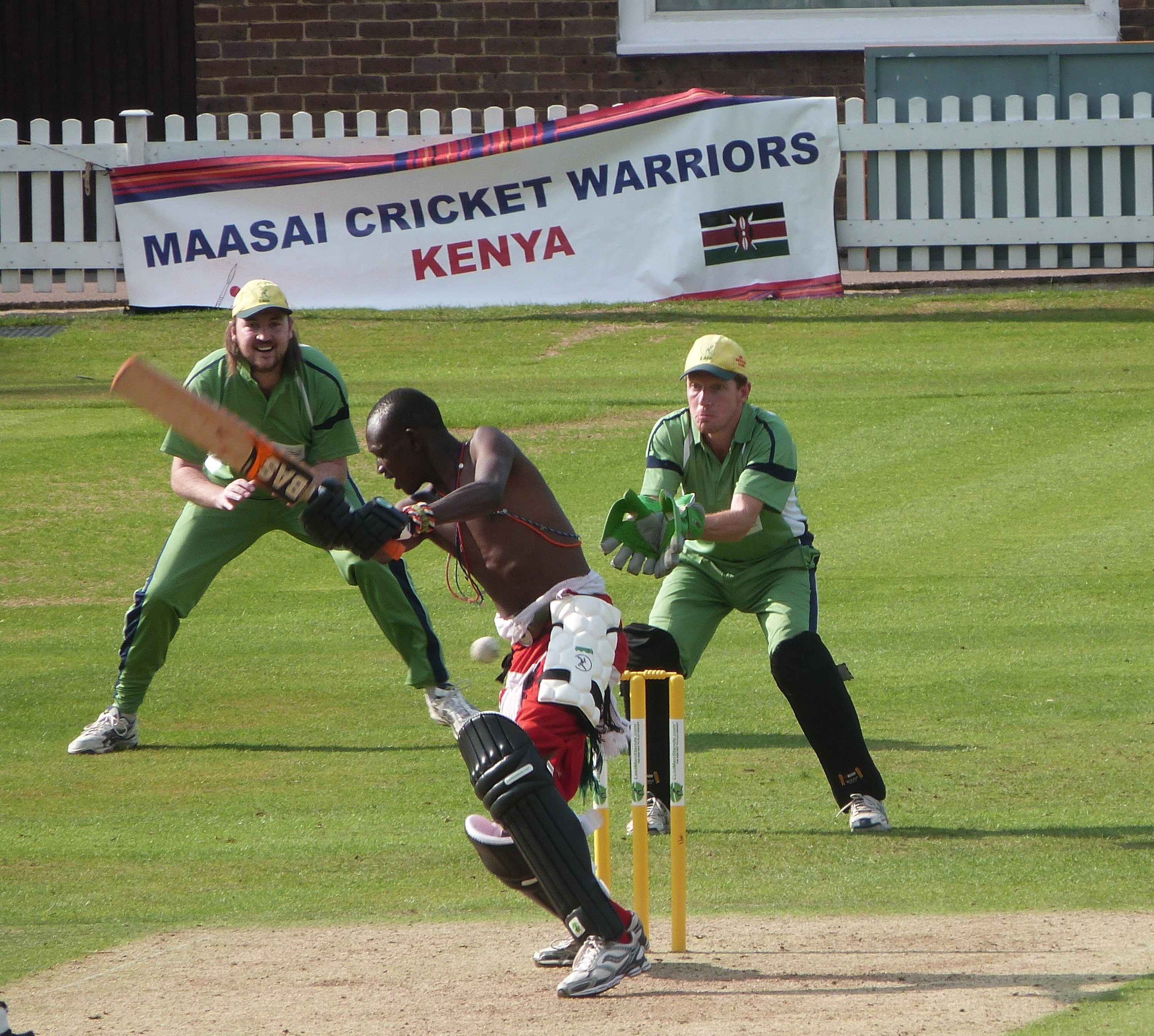 Maasai Warriors play at Lord's in Last Man Stands World Championship finale