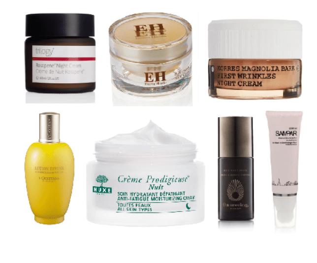 Night creams work in ways days creams don't (Picture: supplied)