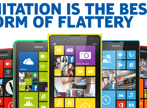 Nokia mockingly thanks Apple for iPhone 5C: 'Imitation is flattery'
