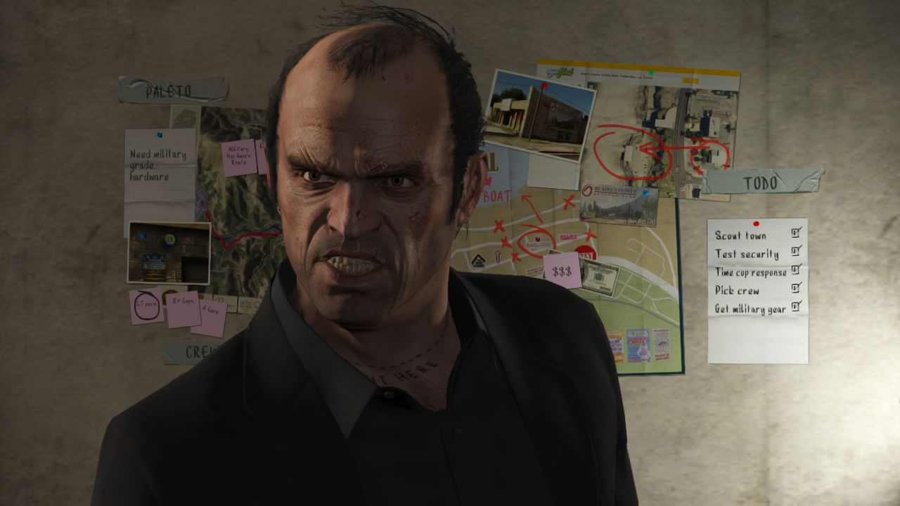 Grand Theft Auto V - Trevor is not a nice person