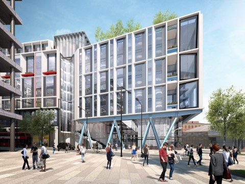 Google given green light for über HQ in King's Cross – including pool and running track on roof