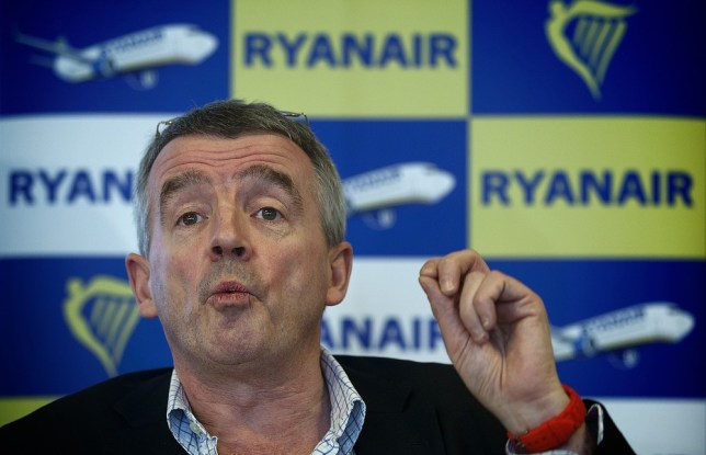Ryanair CEO Michael O'Leary speaks during a press conference at Maastricht-Aachen Airport on January 16, 2013. Dutch television station KRO, in their program Reporter, said Ryanair aircrafts do not refuel enough gasoline. Ryanair will thereby bring the flight crew and passengers in great danger, as a consequence. According to O'Leary, this is a lie and he will take legal action against the KRO. ANP JERRY LAMPEN netherlands out - belgium out. AFP/Getty Images