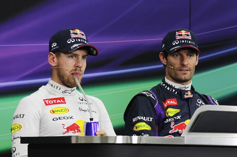 Sebastian Vettel admits respect for Mark Webber as Red Bull pair bury the hatchet