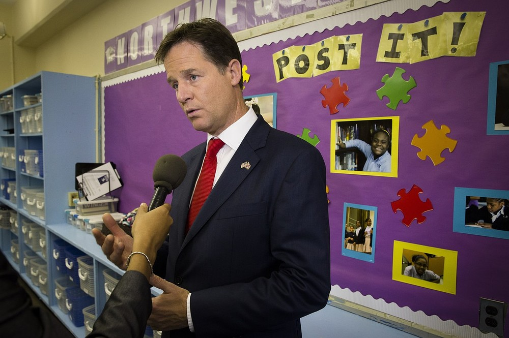 Lib Dem leader Nick Clegg says free schools split is not a 'Coalition crisis'