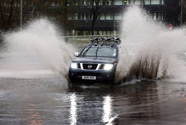 Drivers are being warned to expect 'overwhelming' conditions this Monday (Picture: PA)