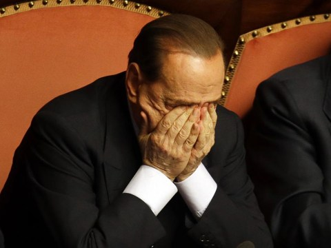 Final humiliation as Silvio Berlusconi is knifed by his own party