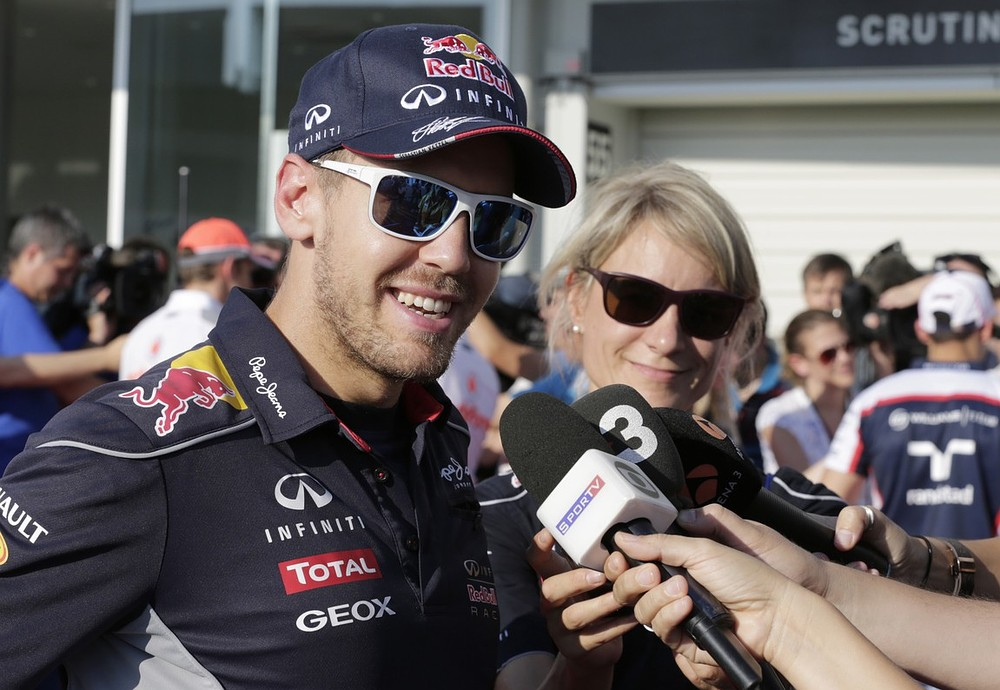 Rivals have no answer to Sebastian Vettel's title march