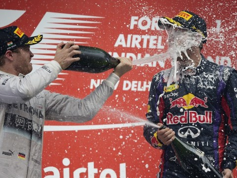 Sebastian Vettel wraps up fourth consecutive world title at Indian Grand Prix