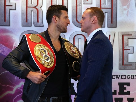 George Groves adamant he will beat Carl Froch despite split with trainer Adam Booth