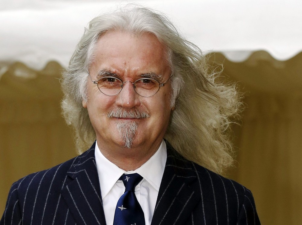 Billy Connolly announces he has cancer all-clear during live TV interview