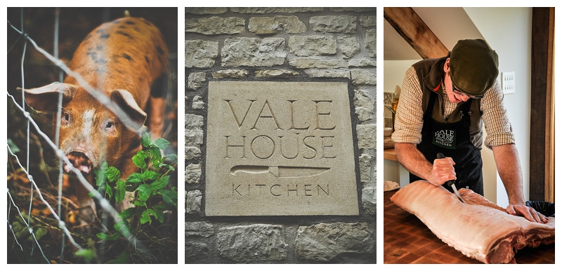 Learn to catch, forage and cook your supper at Vale House Kitchen