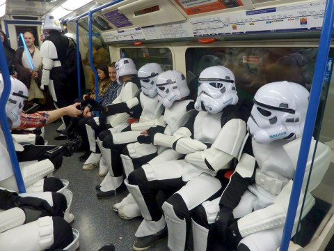 Gallery: Star Wars stag do invades central London
