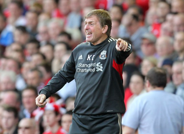 Liverpool's Scottish manager Kenny Dalgl