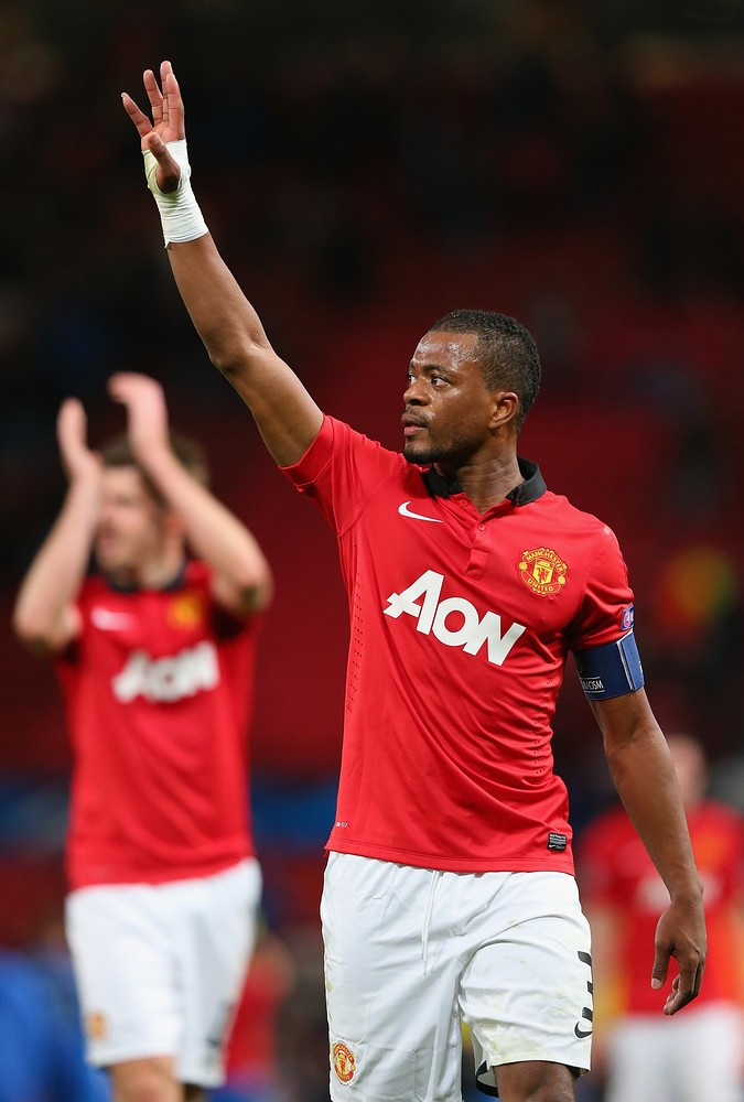 Patrice Evra denies Manchester United exit talk